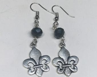 The Originals inspired Earrings Fleur de Lis