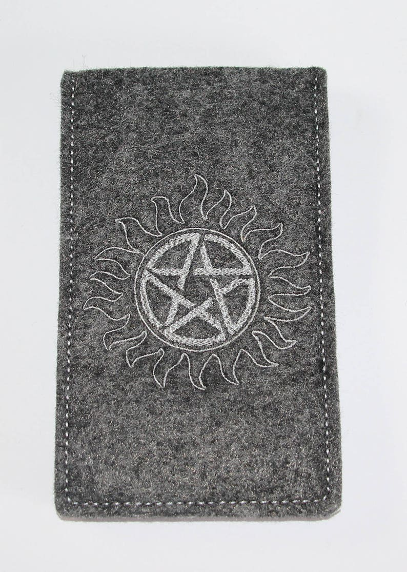 Supernatural inspired cell phone pouch  Anti Possession image 0