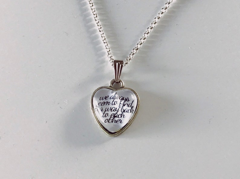 Shadowhunters inspired Malec necklace image 0