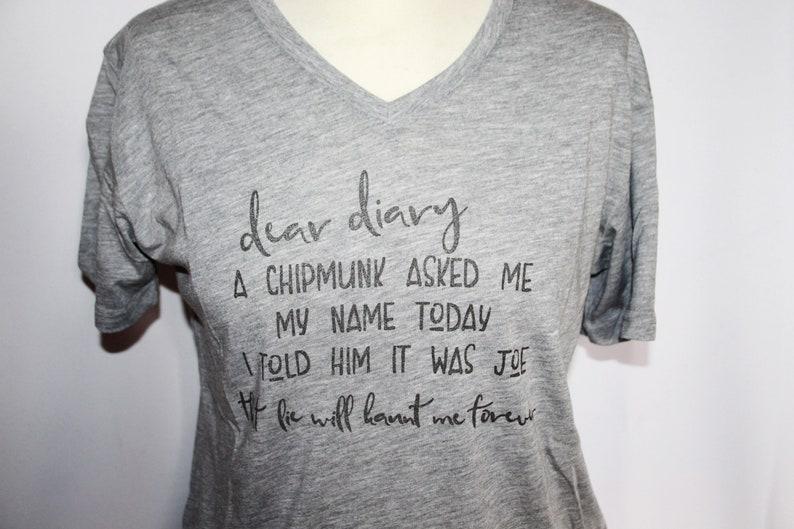 The Vampire Diaries inspired Damon Quote T-Shirt image 0