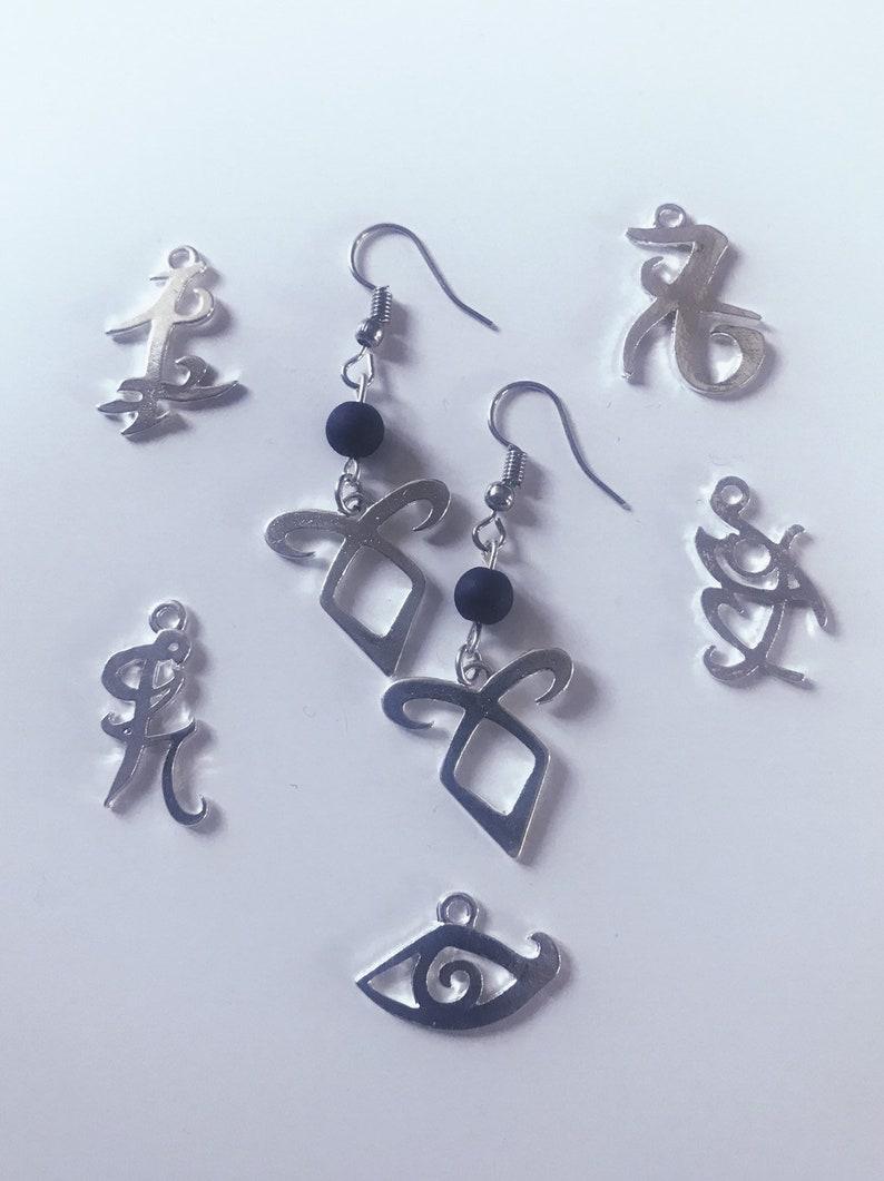Shadowhunters inspired earrings various Designs image 0