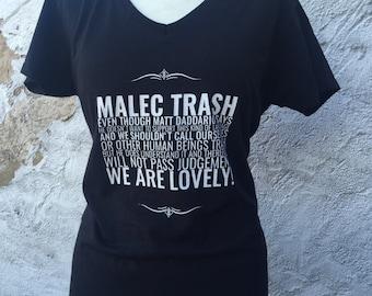 Shadowhunters / Malec inspired T-Shirt
