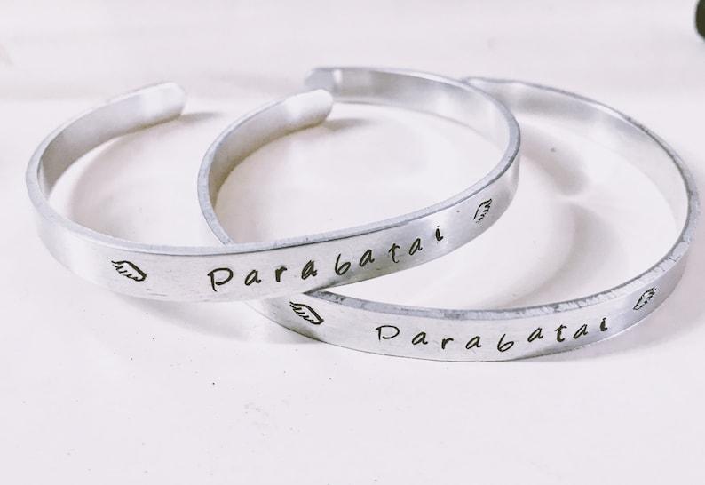Shadowhunters inspired Parabatai Bracelet image 0