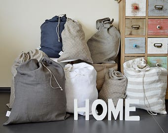 MESH BRA SAVER LAUNDRY WASH CUBE Eco storage bag - 100% linen b