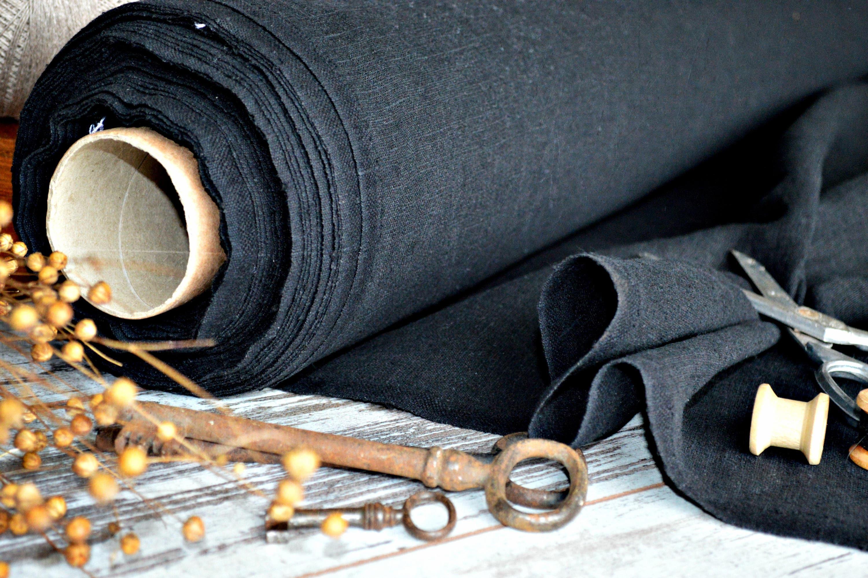100% linen fabric by the half meter - 260 gsm linen - A