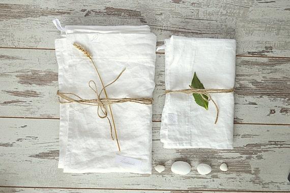 Linen bath towels / Bath and hand towels / face linen towels / Washed rough linen towels / Guest linen towels  / Bathroom towel