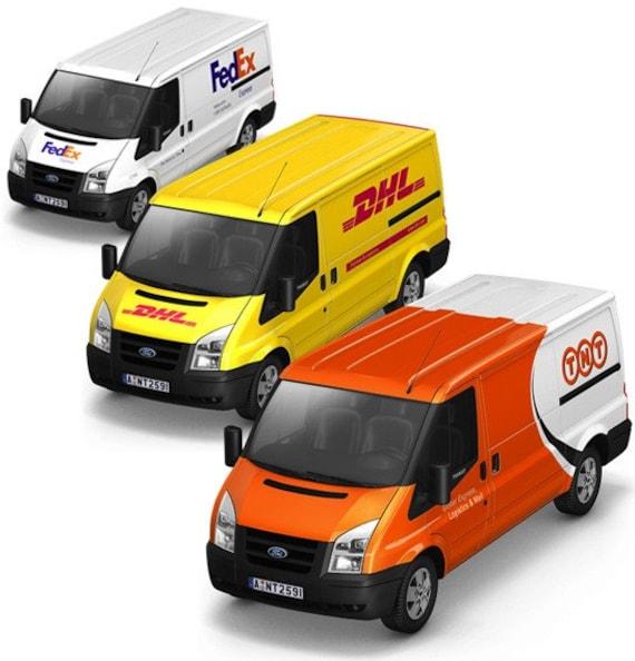 TNT UPS DHL FedEx Express mail service - Express shipping