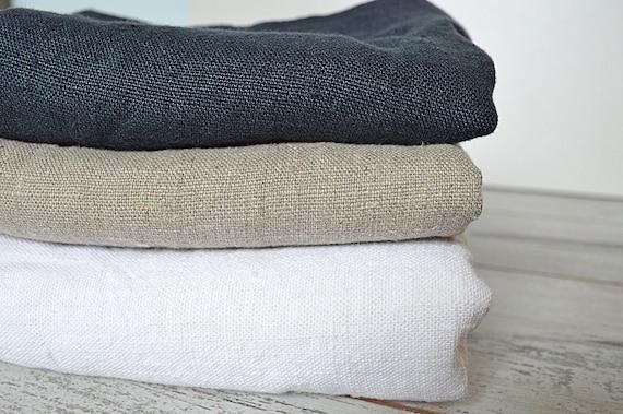 Bath thick linen towel / Softened linen towel /Heavy weight bath towel / Washed rough linen towel / Guest linen towels / Bath towel