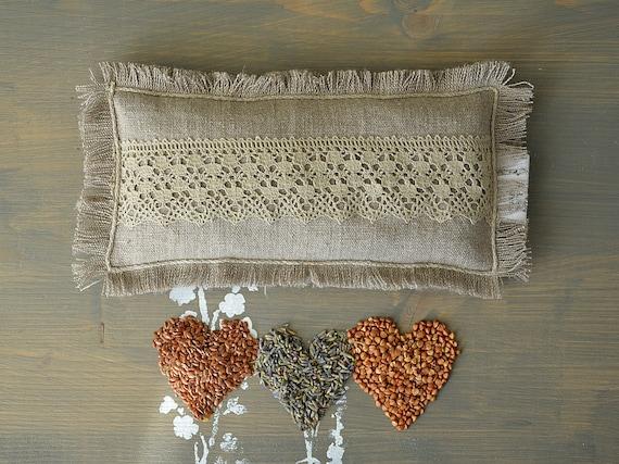 Relaxation Eye pillow / Treat yourself ! -/ Yoga / Meditation eye pillow / Linen sleep mask / Lavender eye pillow / Natural lavender