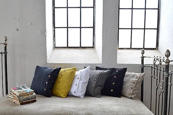 one linen pillowcase