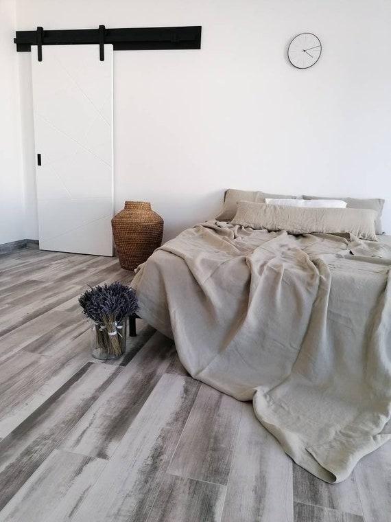 100% HEMP flat sheet / Natural hemp sheet / Hemp bedding / Top Hemp sheet / Queen, king sizes sheets