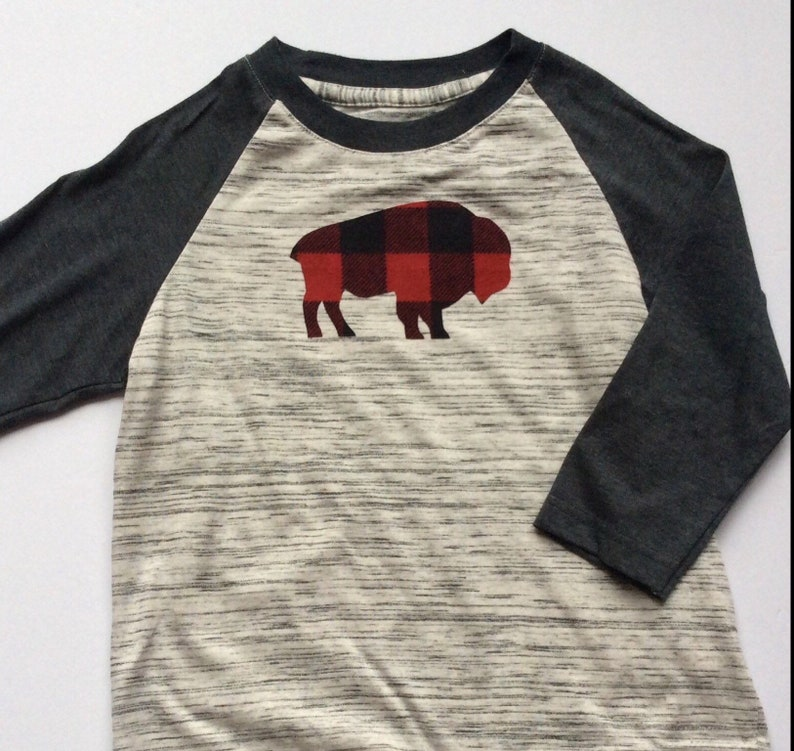 4e5d25d52af Buffalo Jersey Gray Black 4-5T FREE SHIPPING