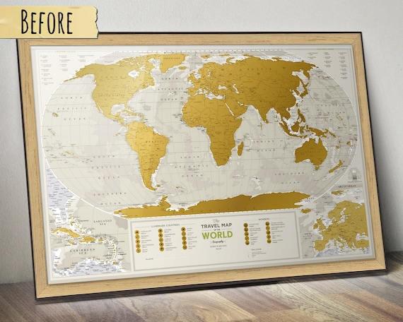 christmas ideas for parents christmas gifts for mom and dad scratchable world map - Christmas Ideas For Parents