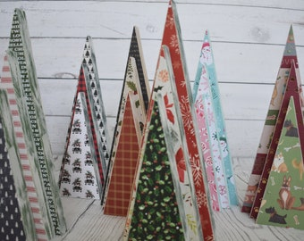 set3 wood christmas tree holiday decor home decor christmas decor wood christmas tree made to order