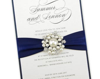 Wedding Invitation Embellishments Etsy
