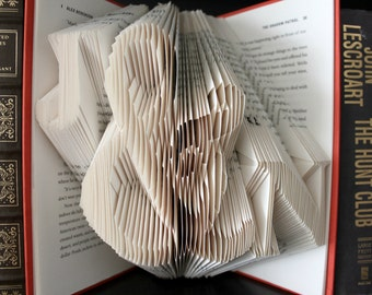 Custom Folded Book - Large Ampersand - Birthday Gift - Valentines Gift - Unique Gift for Him or Her - Personalized Gift