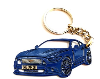 Ford Fairmont Enamel Key Ring australia