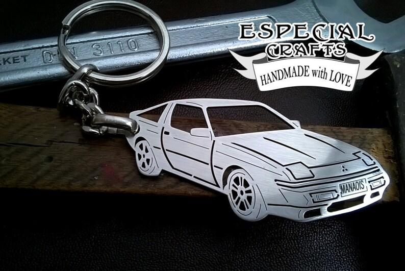 Boyfriend Gift Mitsubishi Starion Keychain