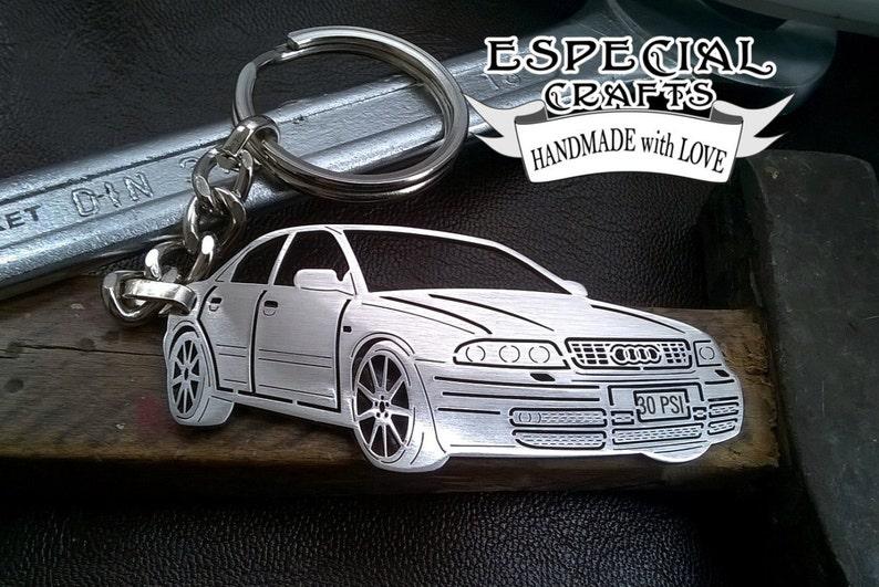 Boyfriend Gift Audi Keychain S4 B5 Personalised