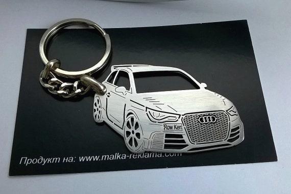 Audi Keychain Personalised Keyring Audi RS Personalized Etsy - Audi keychain