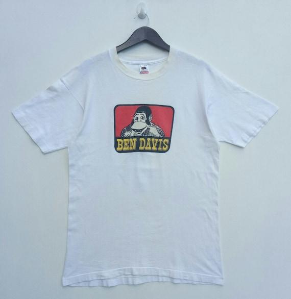 VINTAGE 90s BEN DAVIS rare tee shirt