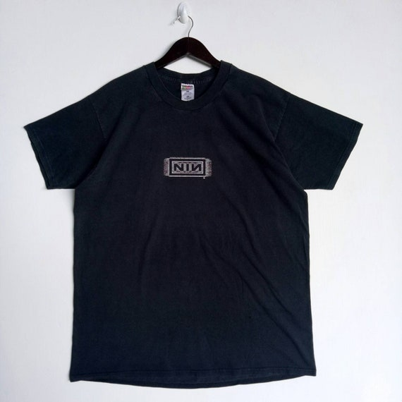 VINTAGE 90s NIN block / Nine Inch Nails gothic roc
