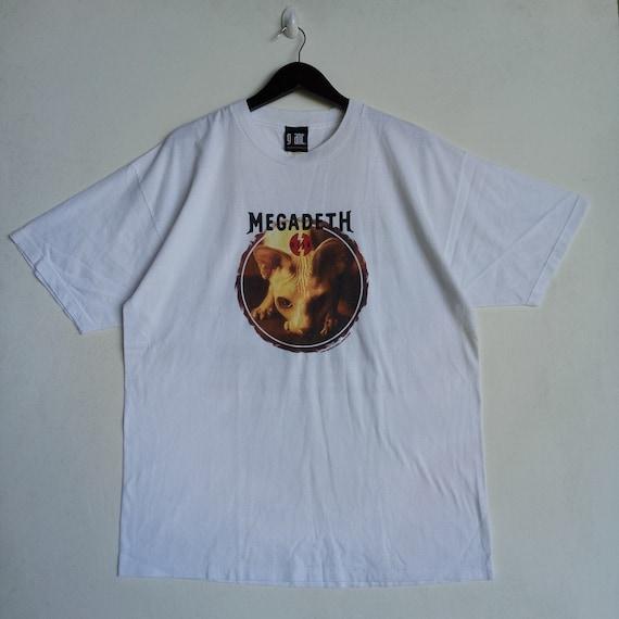 Megadeth Band Logo Thrash Metal Music T-Shirt Rock Band Tie Dye Shirt Unisex Music Shirt Megadeth Band Tie Dye T-Shirt Vtg 90s T shirt