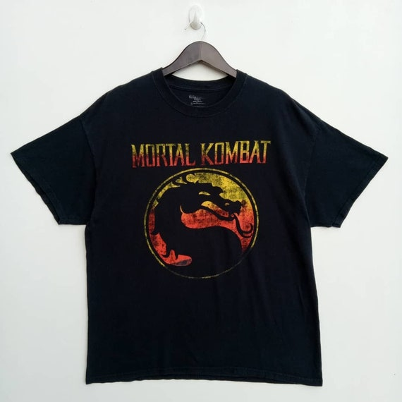 MORTAL KOMBAT action fighting video game tee shirt