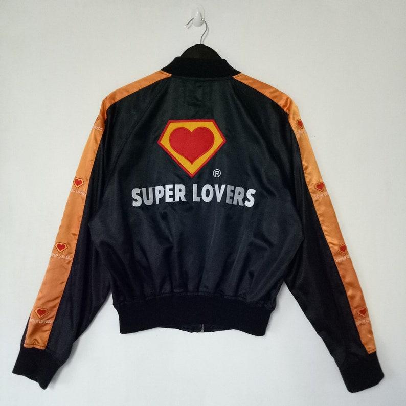 5c9a6b356be SUPERLOVERS sukajan jacket japan rare original   big logo