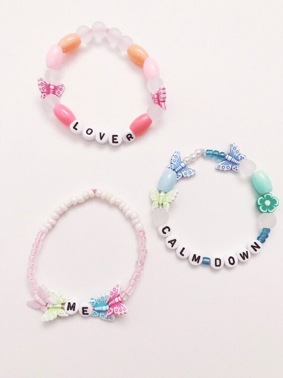 Taylor Swift Pony Bead Bracelet Collection Etsy