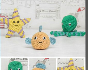 Instant Download Flower Pots Amigurumi Crochet Pattern only Natura Just cotton Yarn
