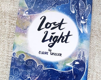 Lost Light Comic - Light pollution graphic novel - Environment - Nature - Animal art