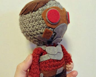 Gamora,Star Lord,Peter Quill,Marvel Universe , handmade,toy,Mad Titan Thanos, Guardians of the Galaxy,souvenir ,amigurumi ,gift,actionfigure