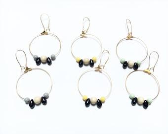 Earrings - MOON