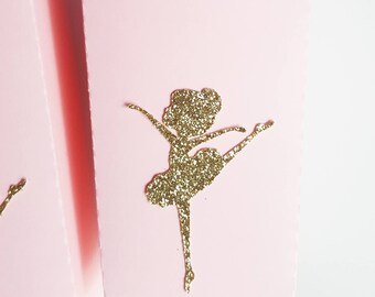 Box pop corn rose theme dancer-name-glitter-glitter-gold-birthday