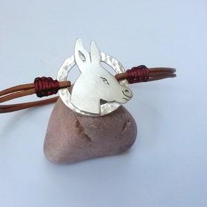 Cute Donkey Charm Select European Charm or Clip on