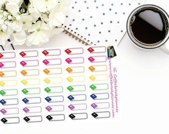 Planner Stickers  Small Bible Stickers  Bible Label Stickers  Bible Study Stickers For use in a variety of planners  RB017