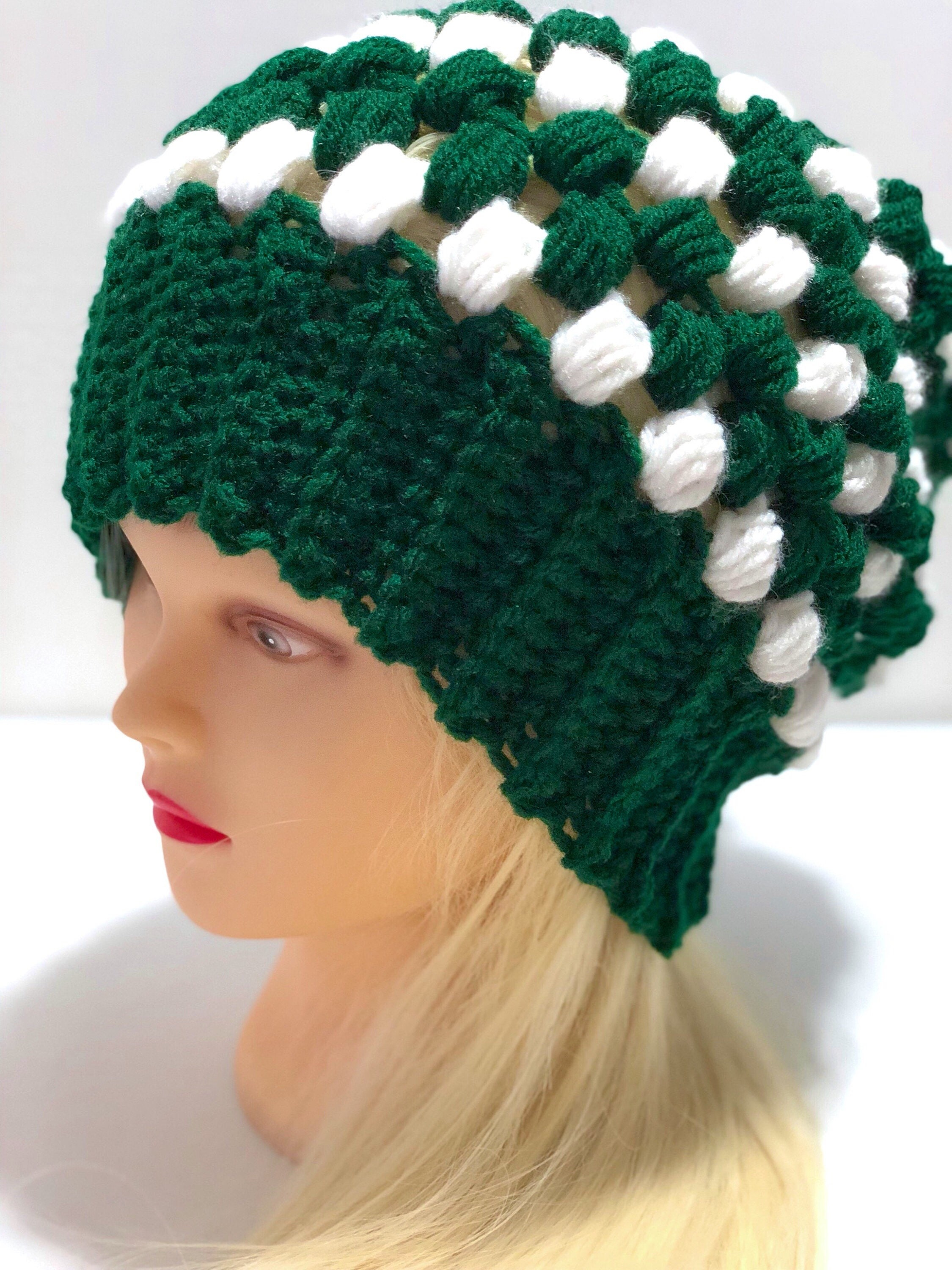 aa5bb4fdc22 Michigan state university slouchy beanie msu hat crochet etsy jpg 2250x3000  Msu crochet hat patterns