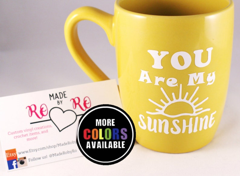 You Are My Sunshine My Only Sunshine 11 oz Coffee Mug Tea Cup Husband Wife Gifts