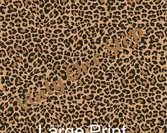 11a7c01258a Cheetah Print 12x12 _12 x 6 inch Vinyl Sheet, Mix and Match. First  Impression Permanent Vinyl