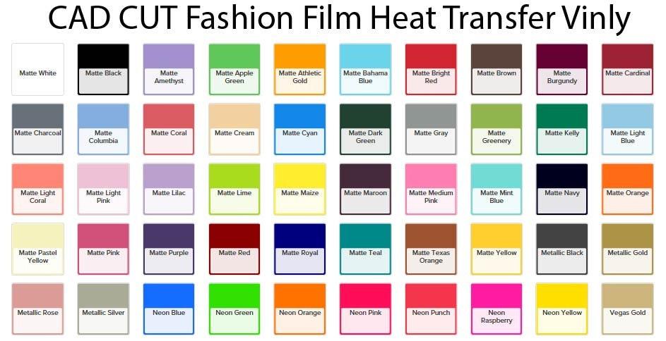 Stahls Cad Cut Fashion Film Heat Transfer Vinyl Sheet Etsy
