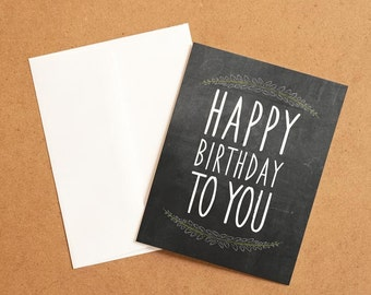 Birthday MemoryTag QR Video Greeting Card. High Quality paper stock, add your own video-photo or gift right to the QR inside!