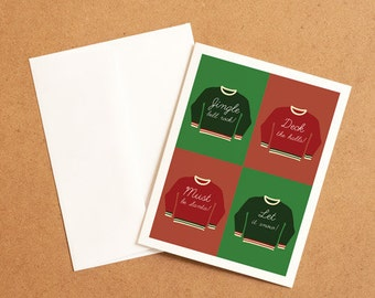Christmas MemoryTag QR Video Greeting Card. High Quality paper stock, add your own video-photo or gift right to the QR inside!