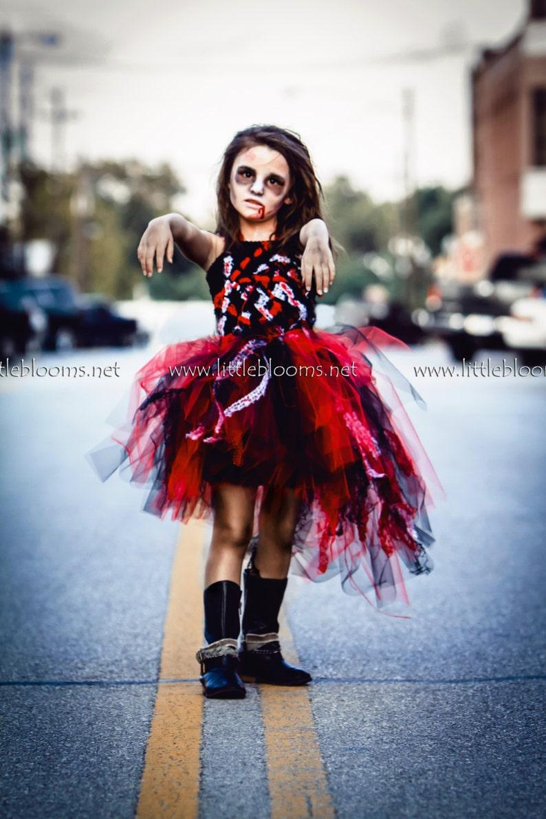 Halloween Costumes For Kids Girls Zombie.Zombie Tutu Dress Girls Zombie Costume Kids Toddler Girl Halloween Costume Tween Girls Halloween Costume Zombie Cheerleader Costume For