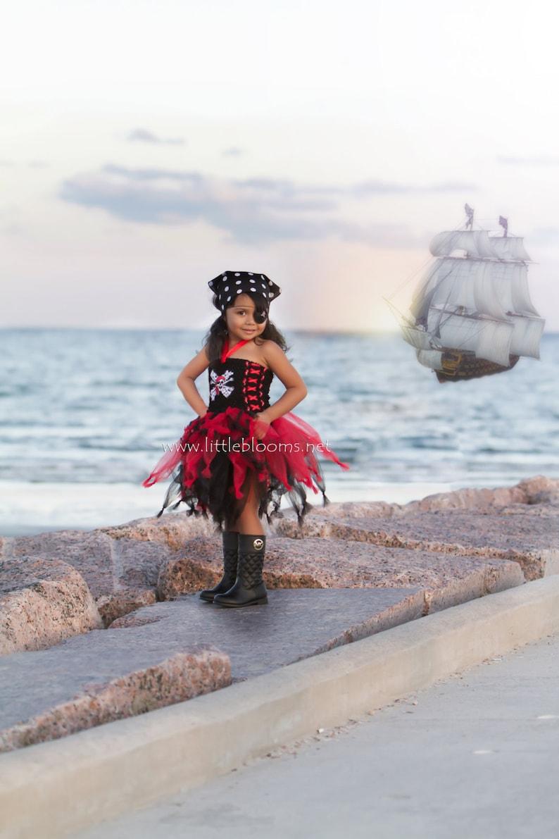 Pirate Tutu Dress Pirate Costume Pirate Cruise Tutu Pirate Birthday Tutu Pirate Cruise Dress Pirate Birthday Dress Kids Pirate Costume