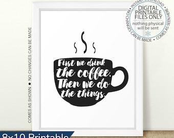 photograph about Printable Coffee Mugs identified as Printable espresso mug Etsy