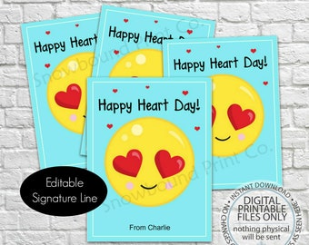 photo about Printable Valentines Decorations known as Printable valentine Etsy