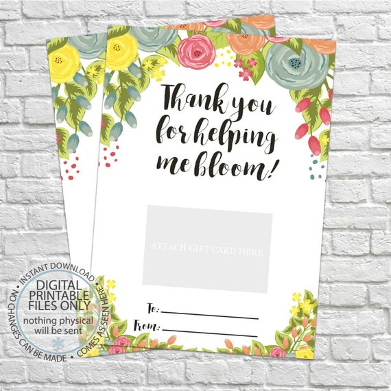 graphic about Thanks for Helping Me Bloom Printable referred to as Printable Trainer Reward, Thank yourself for encouraging me bloom, Present Card Holder, Thank By yourself Present Card Holders, Trainer Appreciation, Instructors Present