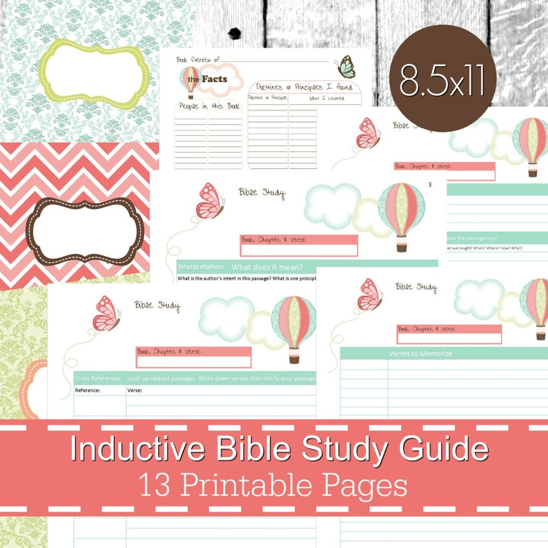 picture regarding Printable Bible Study Guides named Inductive Bible Examine Consultant Printables PDF, Christian bible examine, bible magazine, devotional advisor, bible analyze planner - Butterfly Concept