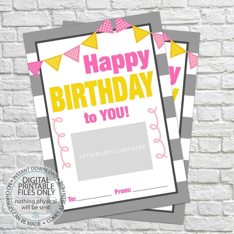 photograph relating to Printable Gift Card Holders referred to as Birthday Present Card Holder, Printable Reward Card Holders, Birthday Present, Pleased Birthday, Joyful birthday in the direction of oneself, birthday card, ladies birthday